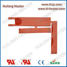 Silicone tubular heater for semiconductor industry application
