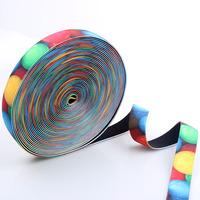Top quality customized printed anti slip elastic band with factory supply
