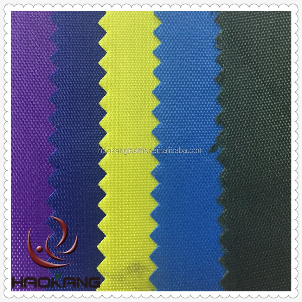 420D oxford fabric names with pvc backing