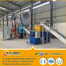 Large capacity pcb recycling e waste electrostatic separator