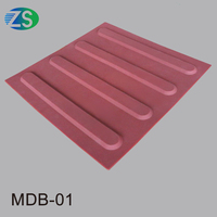 Colorful new type PVC or TPU tactile tile with high quality