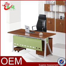 modern design combination director office table design with metal leg M6550