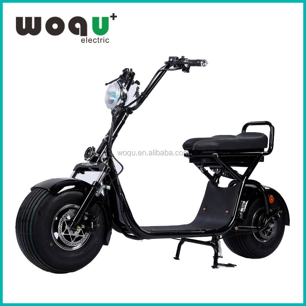 2017 New Product 800W Motor 72V12ah Battery Harley Citycoco Electric Scooter