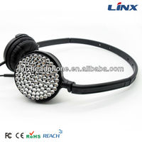 crystal retro phone headset LX-126