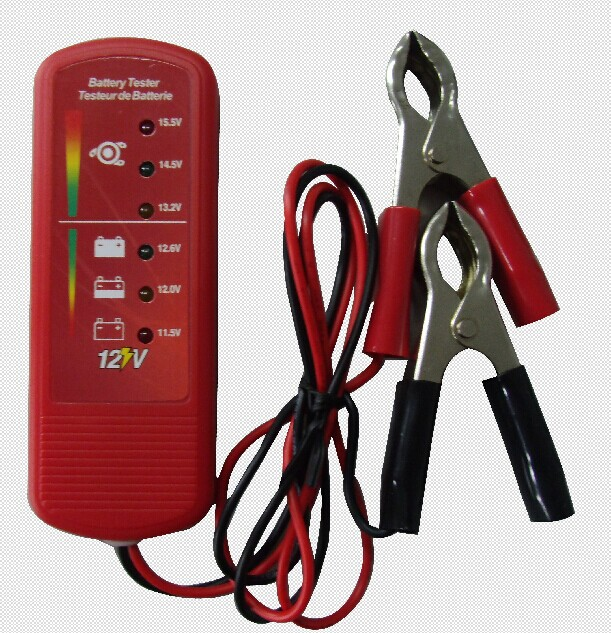 Digital Auto Battery Voltage Tester Interior and Exterior Lamps Checker Analyzer