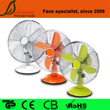 Air cooling 6/9/10/12/16 inch electric plastic and metal decorative table fan