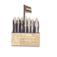 Personalized UAE Die Cast Gold Plating