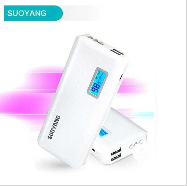 10000mah 5v 2a/1a Lithium Universal Portable Car Charger Power Bank For Ipad Iphone Samsung Htc Nokia
