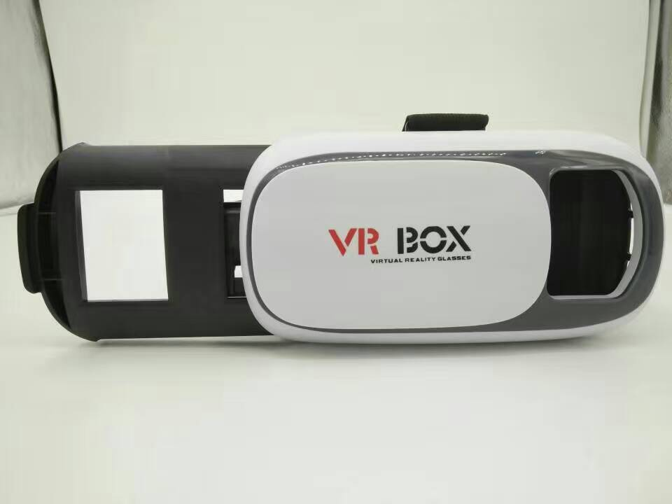 Low price 3d vr box 2.0 glasses virtual reality headset for watching movies, games