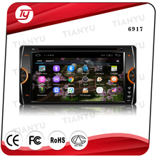 Android 5.1.1 7 inch Double Din 12V Car Multimedia MP5 Player Support Bluetooth Radio with USB AUX In SD Card Slot