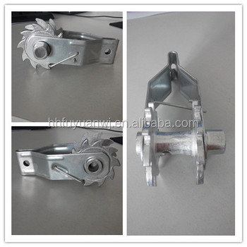 Aluminum Wheel Wire Grip for Fence