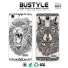 The Latest 3D Lions and Wolves Design For OPPO R7/ PLUS Mobile Phone Accessories For Samsung Galaxy s4 s5 s6 edge Hard Cover Cas