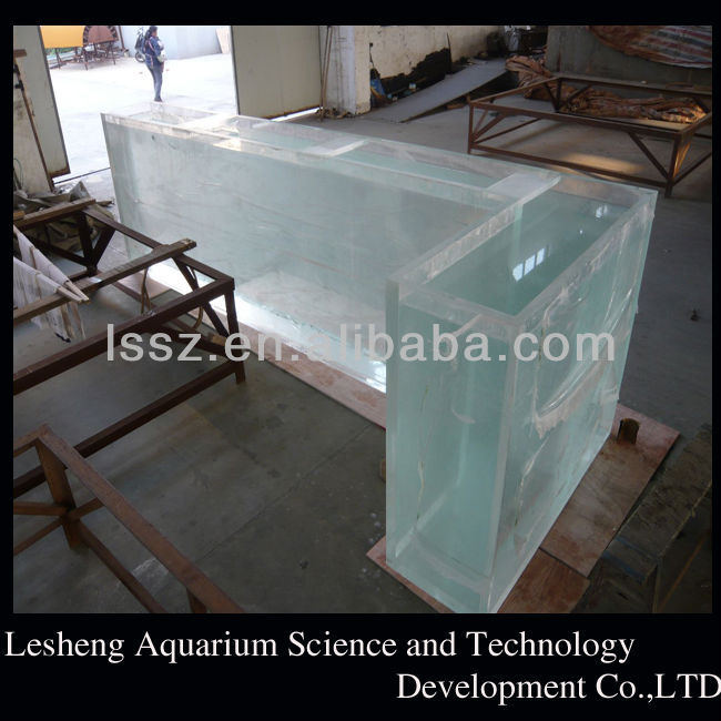 Nature acrylic fish tank/aquarium