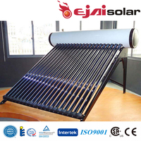 Pressurized Solar Water Heater With Copper Coil Solar Geysers