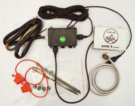 petrol / gasoline tank consumption level sensor online monitoring with GPS/GPRS tracking device