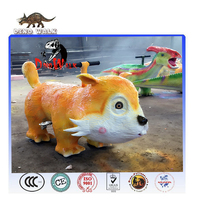 Dino0654 Amusement park attractive electric animal ride on animals