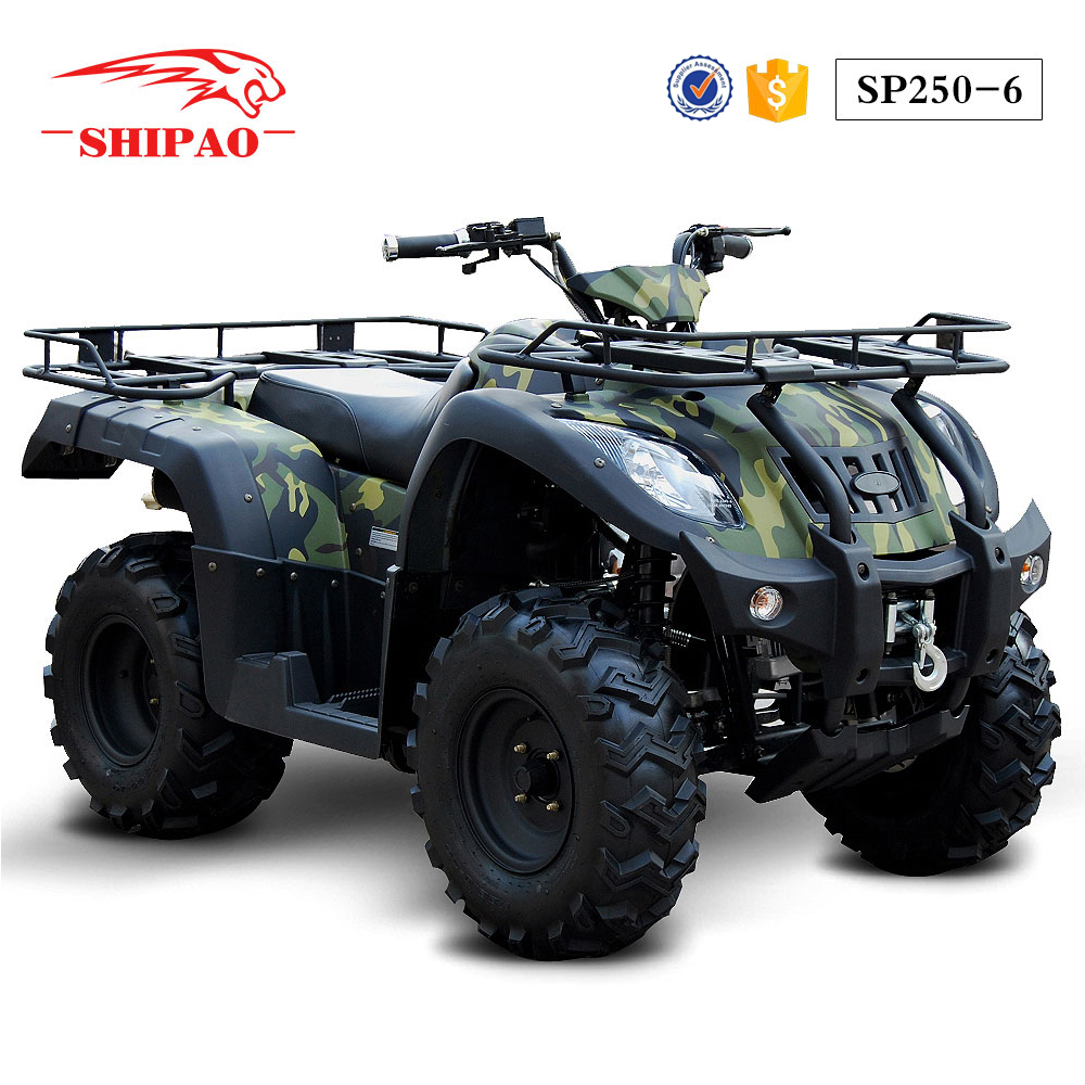 SP250-6 Shipao enjoy freedom the power of speed 250 cc atv