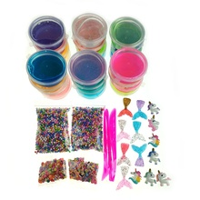 Amazon Hot Sell DIY Unicorn Slime Kit Set Slime Making Kits For Kids