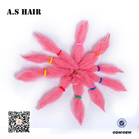 Factory Wholesale Price Hair Extension Products Kinky Twist Synthetic Afro Twist Braid for Hair Extension