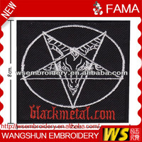 Black metal music band logo music club patches