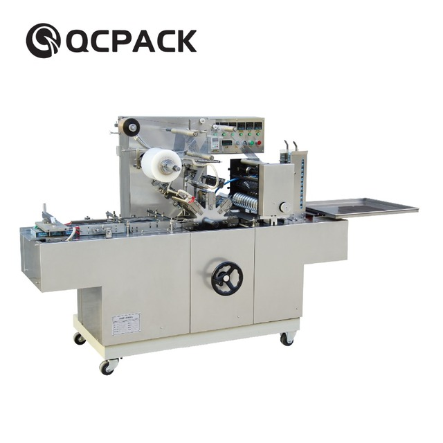 Cigarettes Cellophane Wrapping Machine