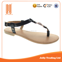 Flats sandal Hot selling new design girls fashion sandal