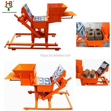 Hand press QMR2-40 manual interlocking brick machine/ earth press machine
