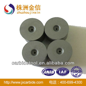 Tungsten carbide cemented threading die head