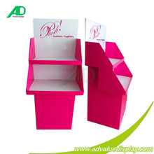 Temporary Point-of-Purchase Exhibition Stand Paper Bags Floor Display