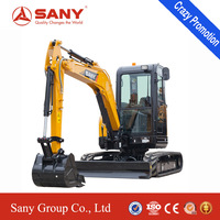 SANY SY35C 3.5ton Mini Excavator China Excavator Price
