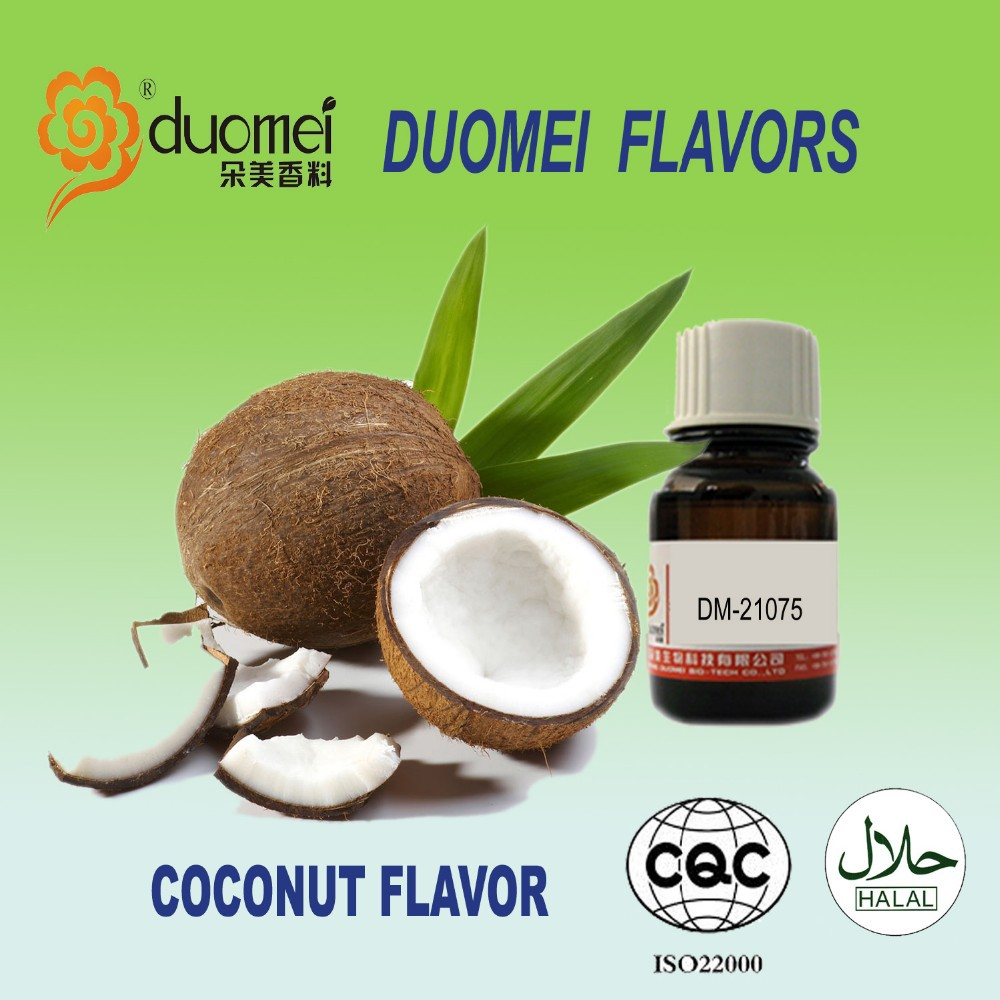 DUOMEI FLAVOR: DM-21075 True Coconut Aroma fruit flavor and fragrance