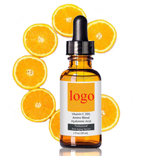 Private Label High Quality Organic Hyaluronic Acid Whitening Repairing Skin Vitamin C Serum OEM/ODM