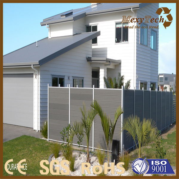foshan composite wood privacy style garden fence
