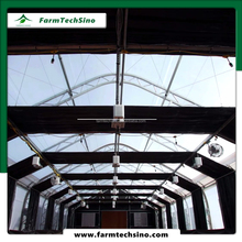 Blackout greenhouse low cost forever flower plant fully automated light deprivation greenhouse