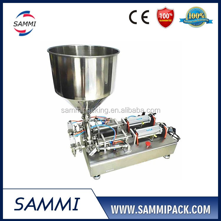 High Quality Double Heads Cream filling machine