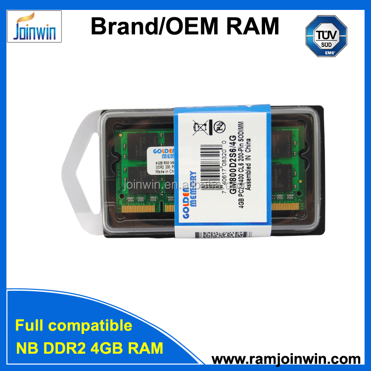 RMA Less than 1% ETT original chips 4gb ddr2 667 sodimm
