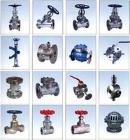 Valves (Gate, Check, Globe, Butterfly, Ball, Jacketed Valves & Pipes, Fittings)
