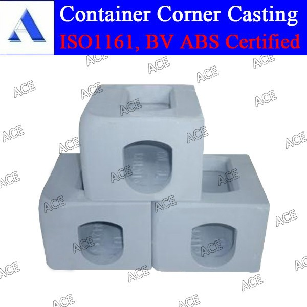 Tianjin China iso 1161 corner casting fitting in stock