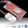 high quality low price decorative dog tag with ball chain