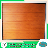 CE certificated Automatic Sectional Garage Door Panels Sale