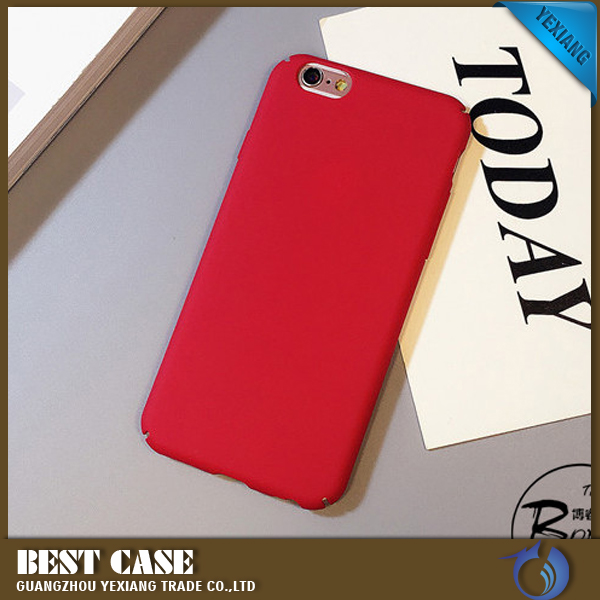 Mobile Phone Candy Colors Housing Rubber Case For Iphone 6 6 plus 7 7 plus Back Cover