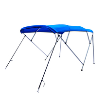 HIDER awning easy to carry canopy stainless steel 4 bow bimini top