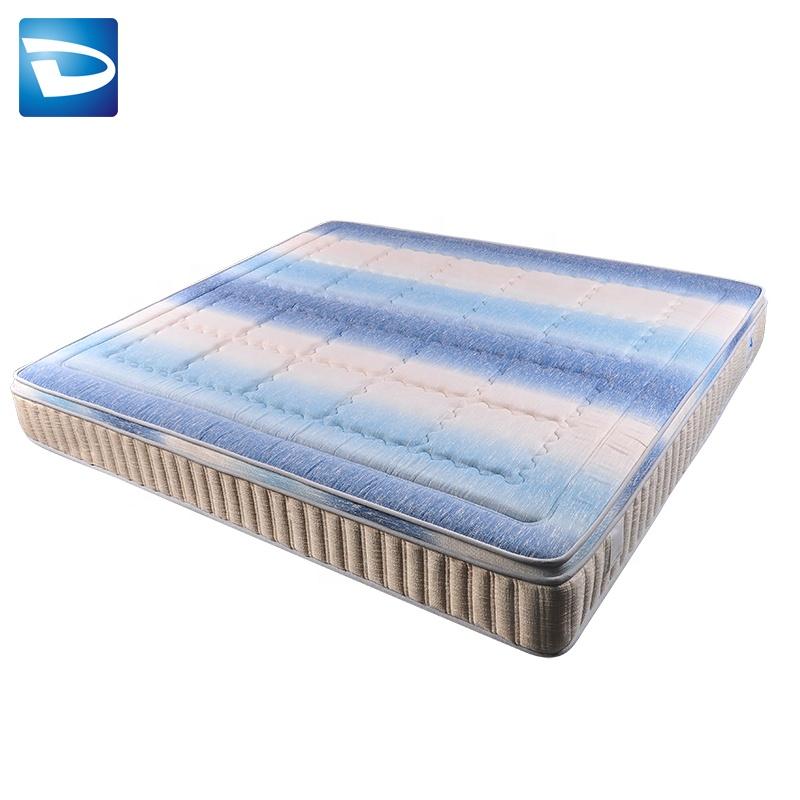 Dingsheng thai kapok fire retardant cover mattress school - Jozy Mattress   Jozy.net