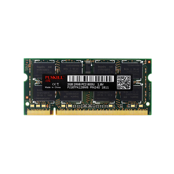 wholesale computer parts sodimm ddr ddr2 2gb 800mhz pc2 6400 laptop ram memory