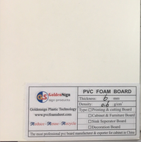 6mm White PVC Foam Board 9mm PVC Plastic Sheet 10mm pvc rigid/celuka/forex PVC foam sheet sample