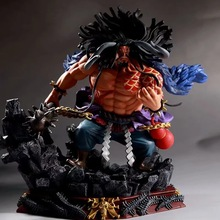 Collection pvc Model Figurine japanese Four Emperors GK Battle kaido one piece anime action figure