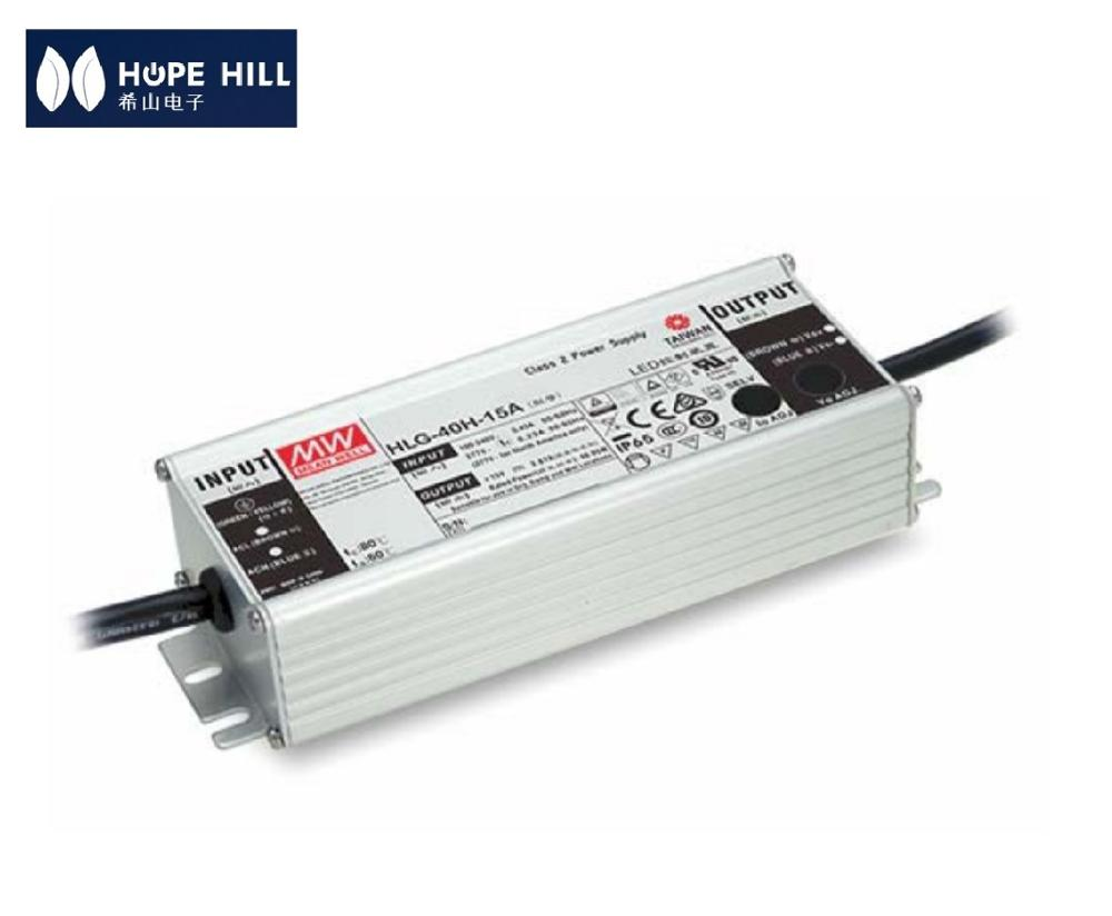 Genuine MEAN WELL HLG-40H-42A 40W 42V output LED <strong>DRIVER</strong> LED POWER SUPPLY