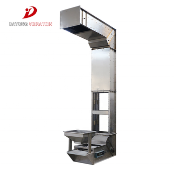 New Style Hot Selling Dustproof Bucket Elevator For Salt