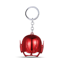 The <strong>Flash</strong> Keychains Red Gold Logo Metal Alloy Key Chain Car Key Ring Key Holder Avengers Metal Jewelry Mens
