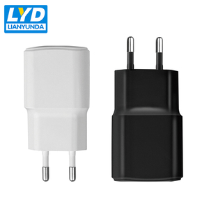 Customized EU 1 port 5v 0.5a USB travel adapter wall charger